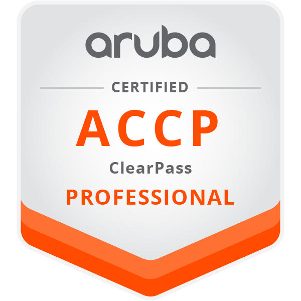 Aruba Certified ClearPass Professional