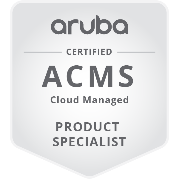Aruba Cloud Managed Specialist (ACMS)