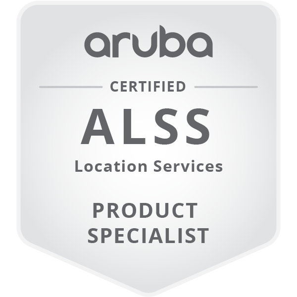 Aruba Location Services Specialist